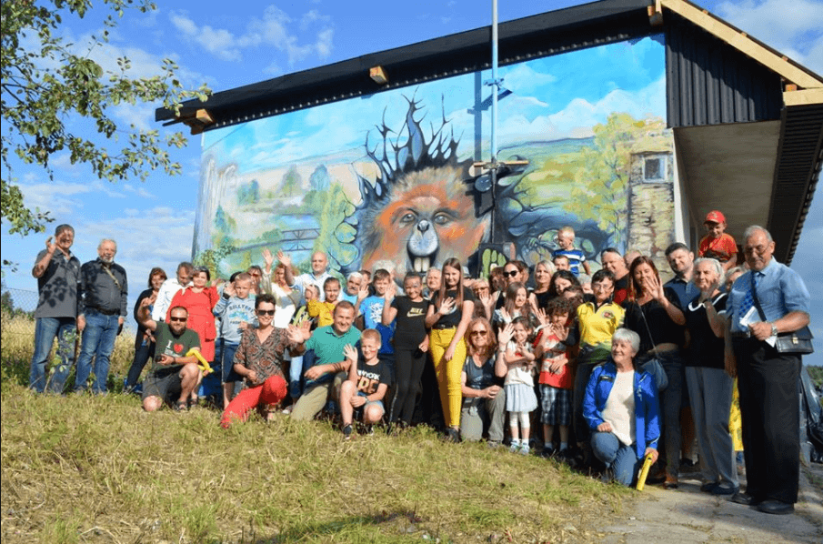 Eko-Festyn - mural wtle