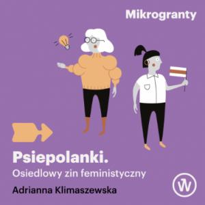 Psiepolanki grafika Mikrograntów