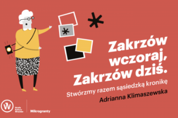 Zakrzów wczoraj Zakrzów dziś grafika Mikrograntów